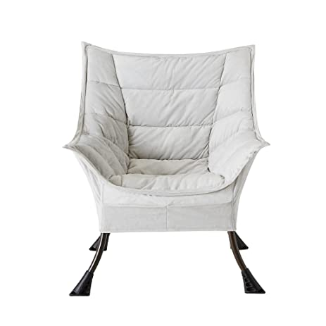 IntelliDREAM Casual Living Room Chair, Warm Grey