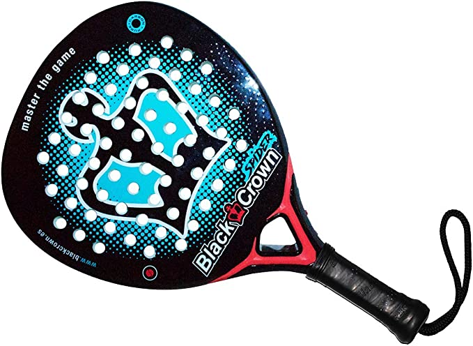 Amazon.com : Black Crown | Spider Padel Racket Paddle ...