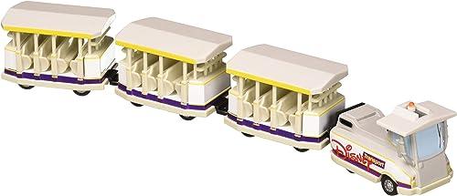Disney Parks Parking Lot Tram Model 4 Piece Die Cast Metal Set New in Box