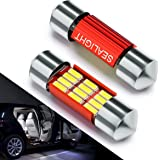 Bombillas LED Coche 31mm SEALIGHT 12 SMD Canbus Error Free Techo LED DE3175 4014 C5W DE3021