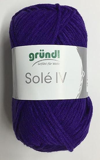 Sonderposten Gründl Solè IV, 10 tolle Farben, Baumwoll-Polyamid ...