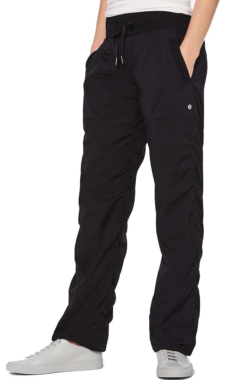 lululemon Danza Pantalón Regular), color negro: Amazon.es ...