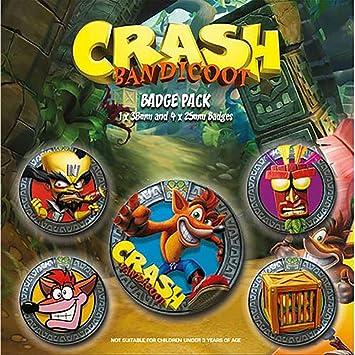 Amazon.com: Producto oficial de Crash Bandicoot – Juego de ...