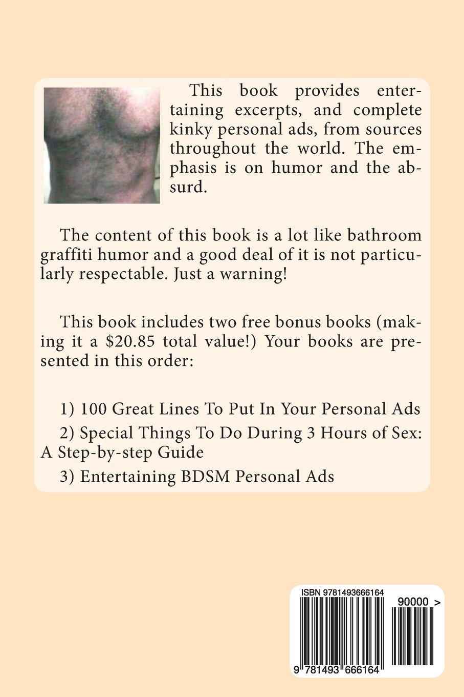 Kinky bdsm personal ads