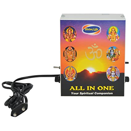 Pooja Chanting Box All in One - Mantra Chanting & Devotional Songs Player