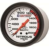 Auto Meter 5828-00407 GM Series Mechanical Nitrous Pressure Gauge