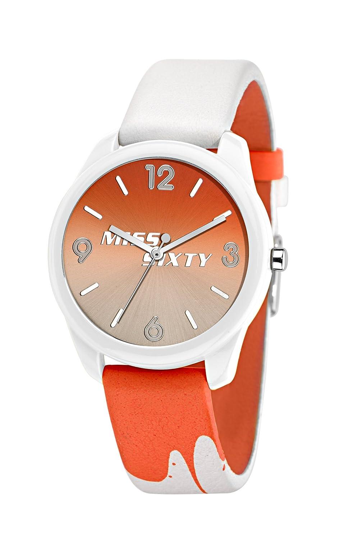 Miss Sixty Damen-Armbanduhr Analog Quarz Resin R0751117504