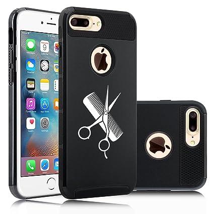 Amazon.com: Apple iPhone (7 Plus) Impacto duro Soft Case ...