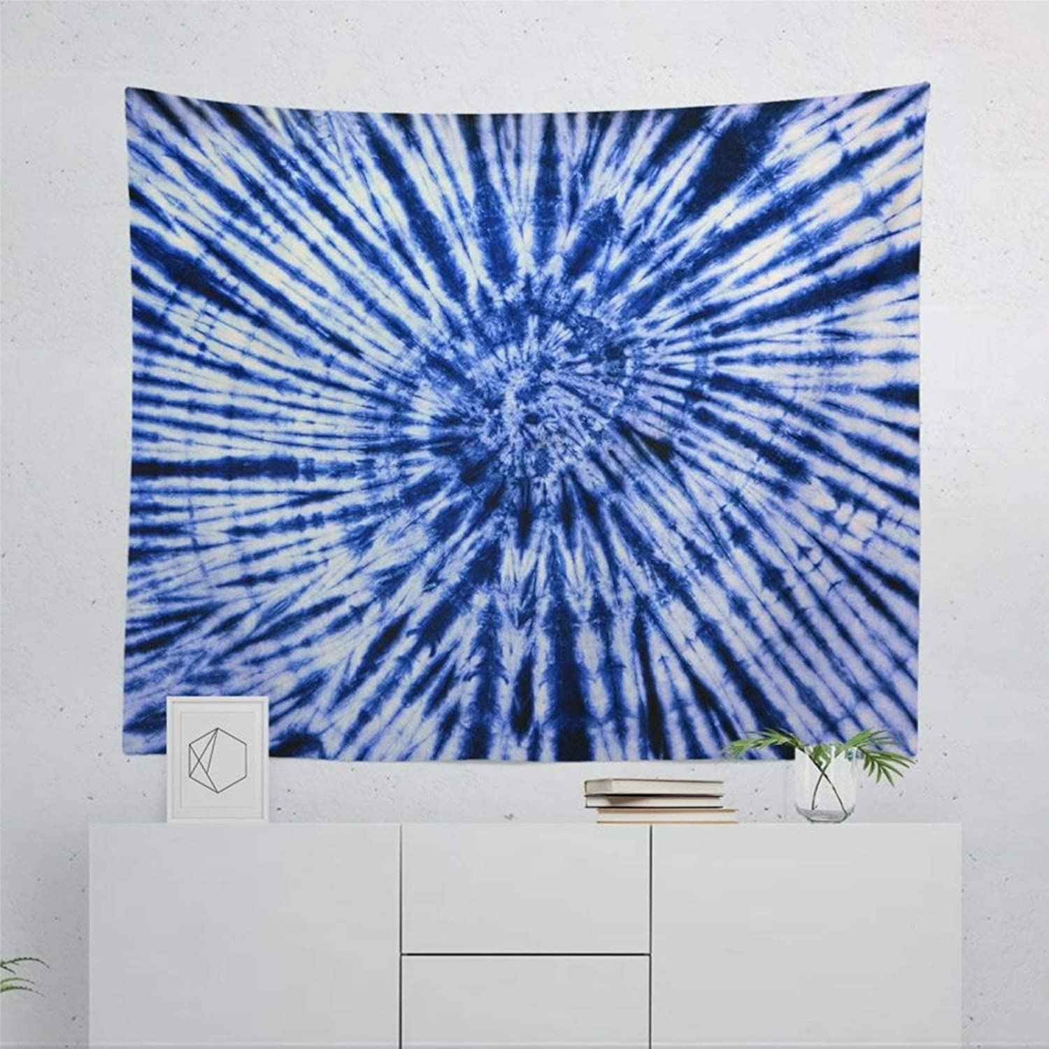 """DONL9BAUER Soft Wall Tapestry, Tie Dye Tapestry Hippie Tapestry Wall Decor All Season Wall Hanging Art Room Tapestries Throw Blanket for Couch, Sofa, Travel 60""""x80"""""""