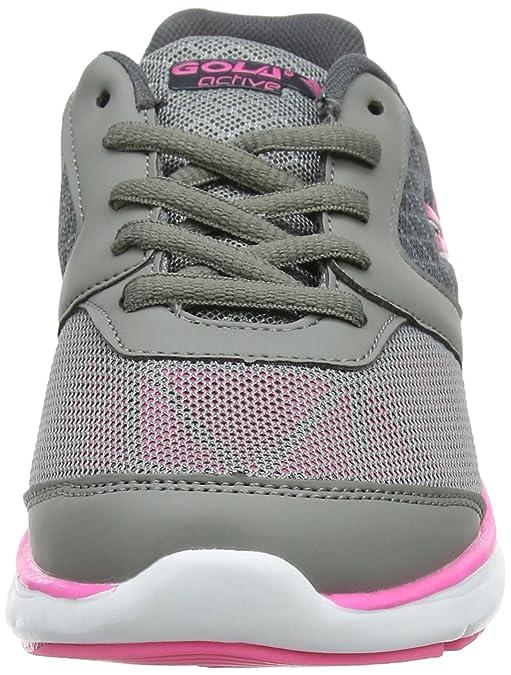 Gola Rosafarbene kompakte Spitze der Frauen Herauf Sport-Schuh - Größe 4 UK/37 EU - Pink Wv241siQl