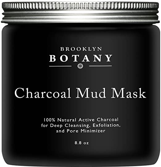Activated Charcoal Mud Mask Homemade facial mask