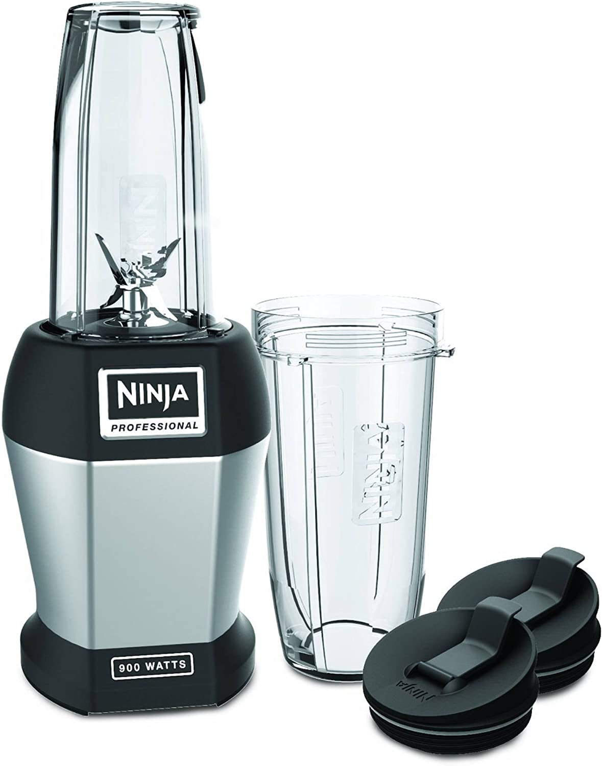 Ninja BL456-RB Nutrient Extraction Pro Blender, Black (Renewed)