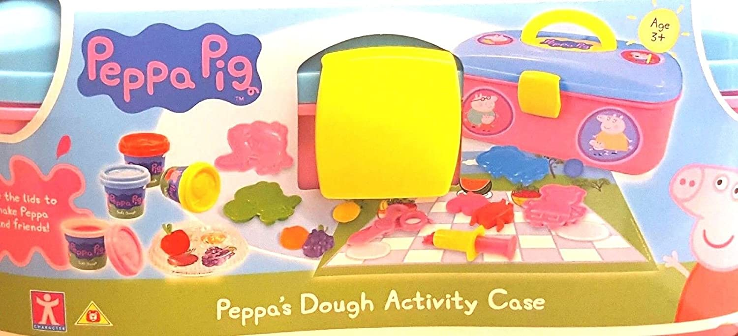 Peppa Pig's Dough Activity Box Set With Picnic Case & Character Moulds - 310515