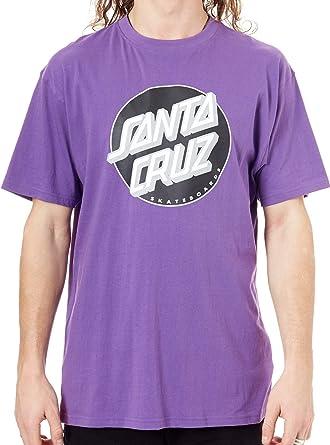 Santa Cruz Camiseta Classic Dot Morado (XXL, Morado): Amazon ...