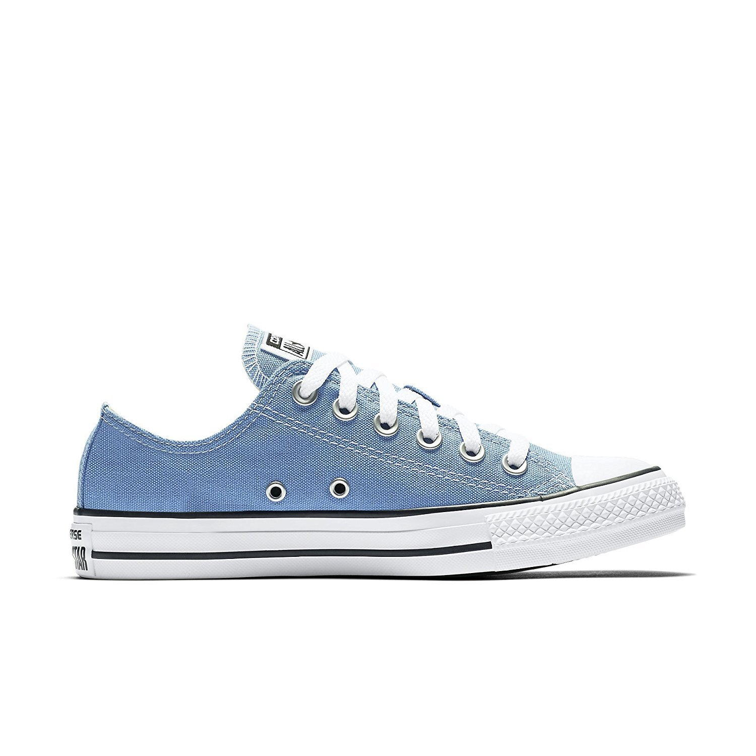 converse unisex chuck taylor all star low top pioneer blue