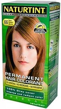 Naturtint - Tinte para el pelo (rubio dorado oscuro, 170 ml ...