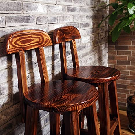 Amazon.com: NUBAO Taburete de bar retro antiguo, sillón de ...