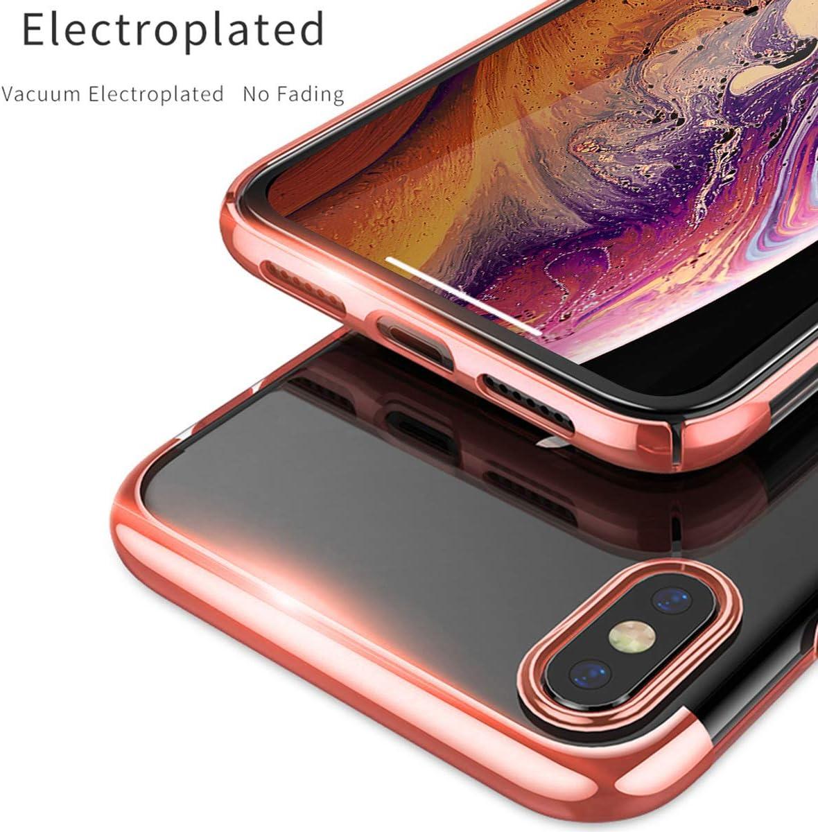Soporte para Coche con im/án para iPhone XR,Negro XUNDD Funda para iPhone XR,Carcasa de Cristal con Soporte magn/ético de 360 Grados funci/ón Atril