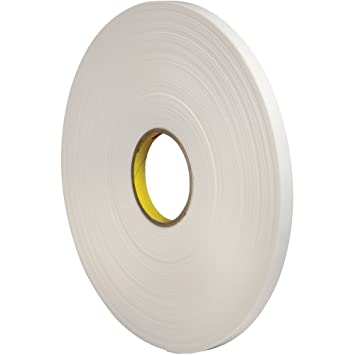 "3 M 4462 Poliuretano espuma cinta adhesiva de doble cara, 1/32 """