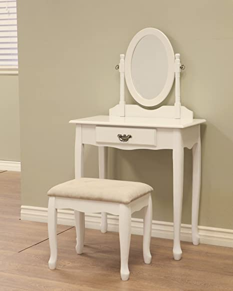 3 Piece Vanity Set.Frenchi Home Furnishing 3 Piece Vanity Set