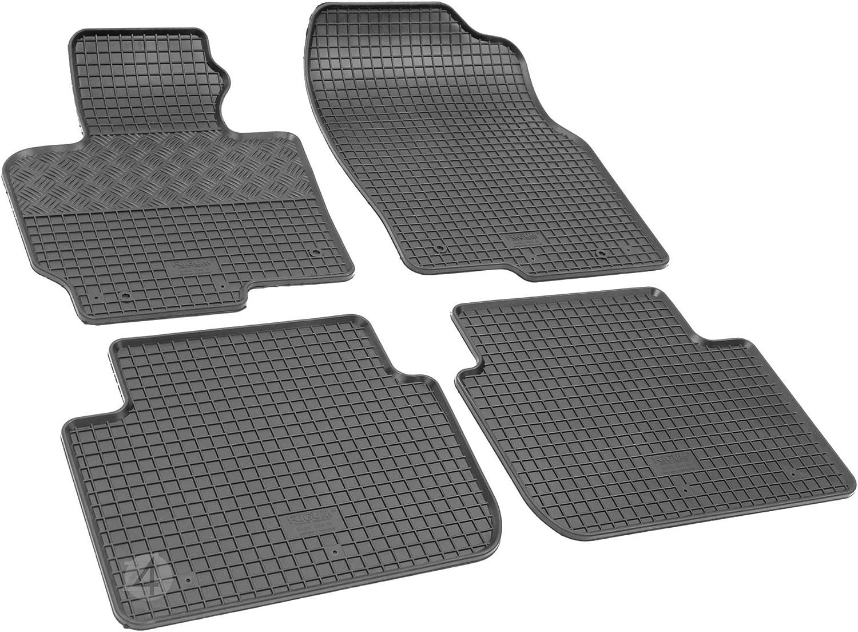 su misura 2017 Tappetini in gomma con vasca per bagagliaio set compatibili con Mazda CX-5 2012