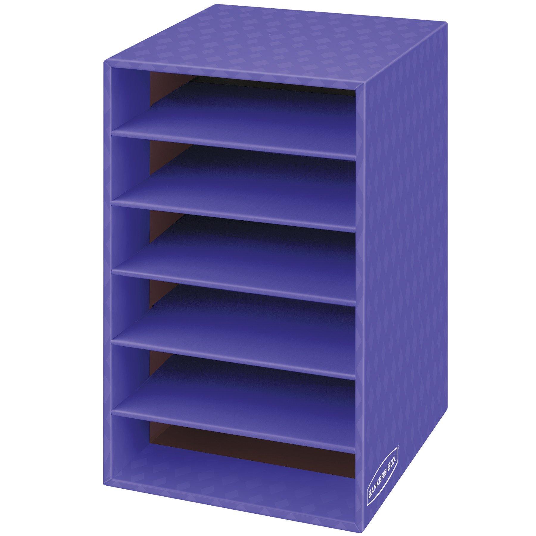 Bankers Box Classroom 6 Shelf Organizer 18''H x 12''W x 13 1/4''D (3381201)