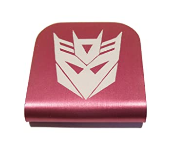 Transformers Decepticon Morale Tags Hat Clip for Tactical Patch Caps (Pink) 0cd716f8610