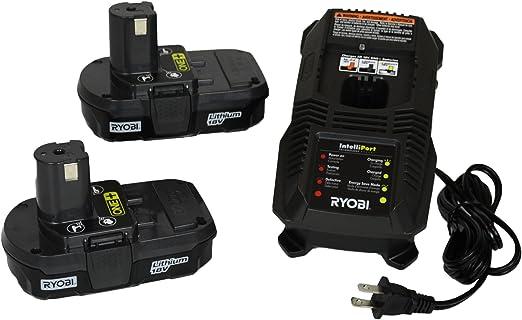 Amazon.com: Ryobi P118 NiCd/Cargador de batería de ion de ...