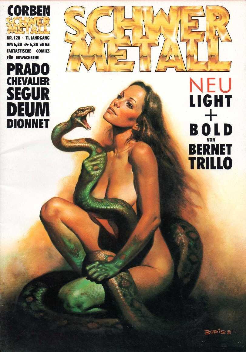 Schwermetall Magazin Nr 88 Fantastische Comics für Erwachsene Top-Zustand