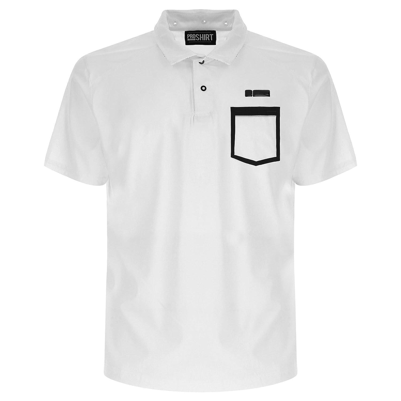FREDDY Camisa M/C Polo con Orificios Transpirables y Rejilla ...