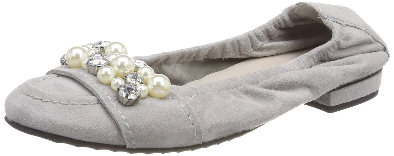 Kennel und Schmenger Damen Malu Geschlossene Ballerinas, Grau (Alu/Pearl), 39 EU
