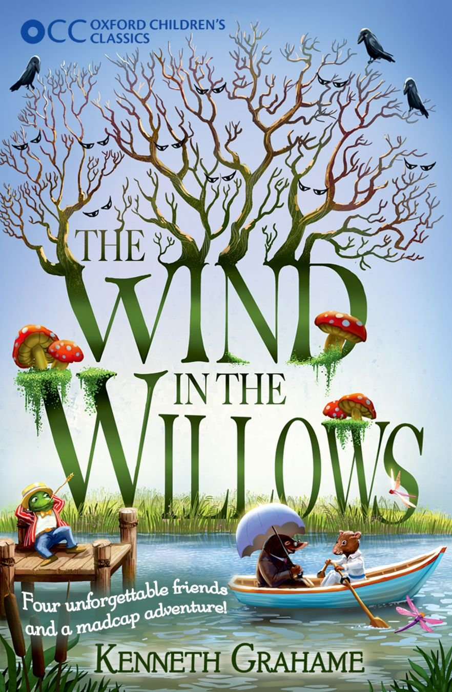 Image result for the wind in the willows book cover
