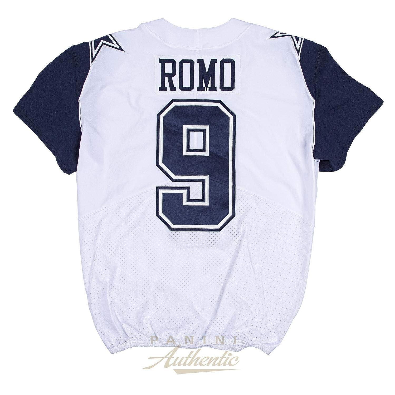 newest 2374c 2890b Tony Romo Game Worn Dallas Cowboys Color Rush