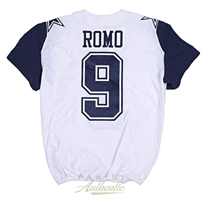 newest bcd33 ac41d Tony Romo Game Worn Dallas Cowboys Color Rush