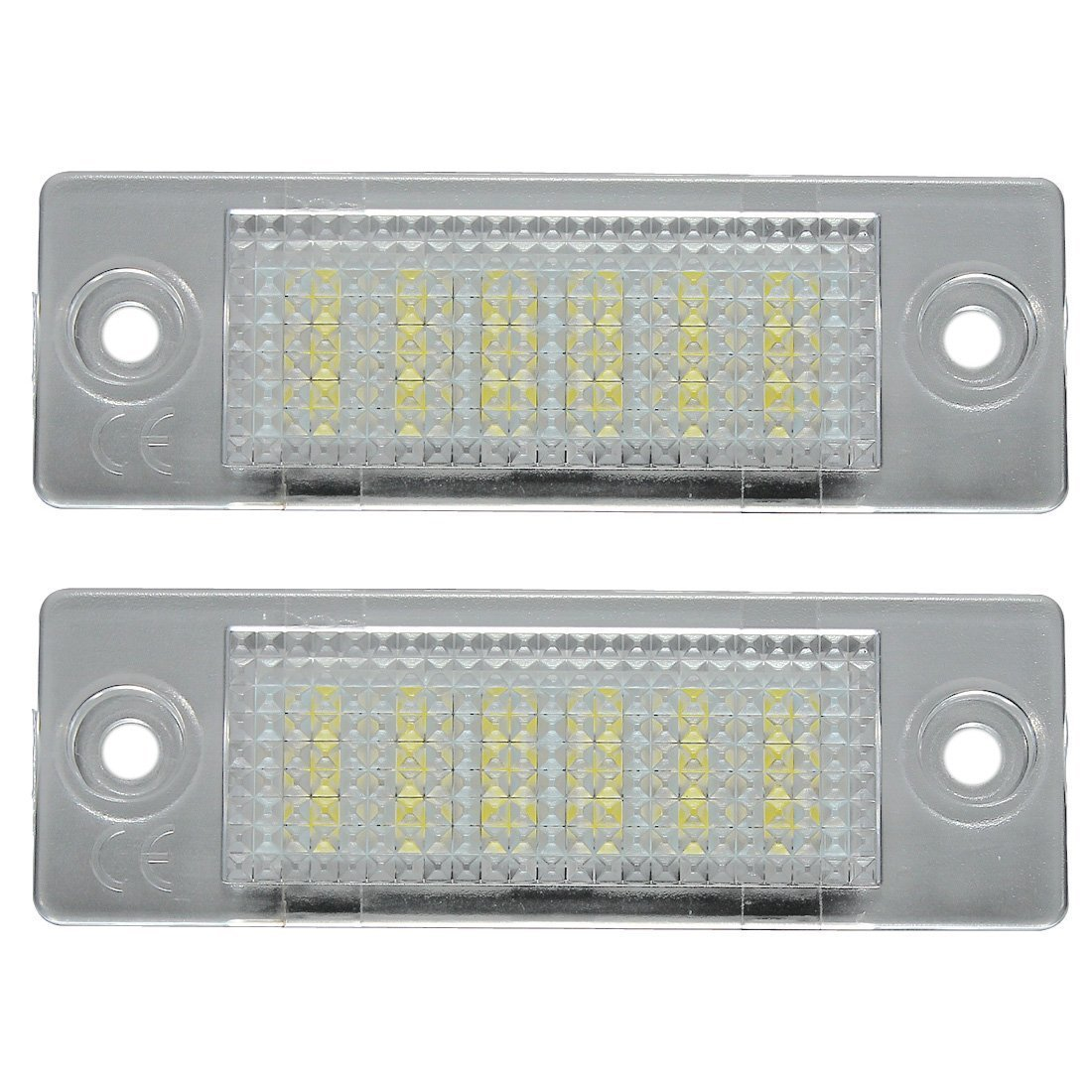 LED Number Plate Light - SODIAL(R) LED License Number Plate Light Lamp 060689