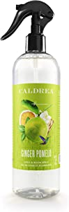 Caldrea Linen and Room Spray Air Freshener, Made with Essential Oils, Plant-Derived and Other Thoughtfully Chosen Ingredients, Ginger Pomelo Scent, 16 oz (Packaging May Vary), 666567