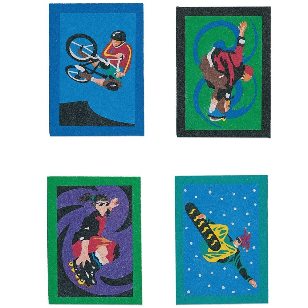 Sand Art Boards 5x7 Extreme Sports S/&S WORLDWIDE CF-1436