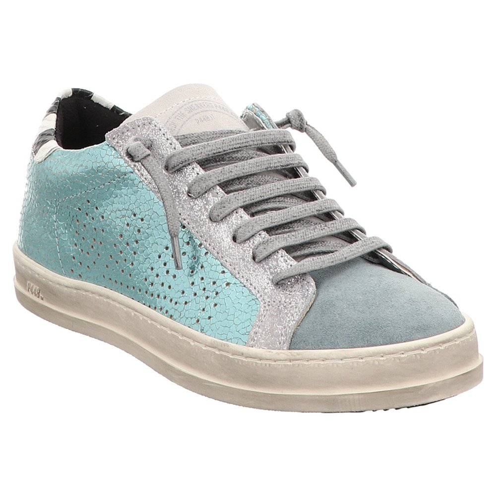P448 Zapatos de Cordones de Piel Para Mujer Gris Gris Gris Gris bc7417