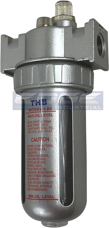 "1 pcs SMC Type Compressed Air Pneumatic 1//2/"" BSPT Lubricator Oiler 4000 L//min QC"