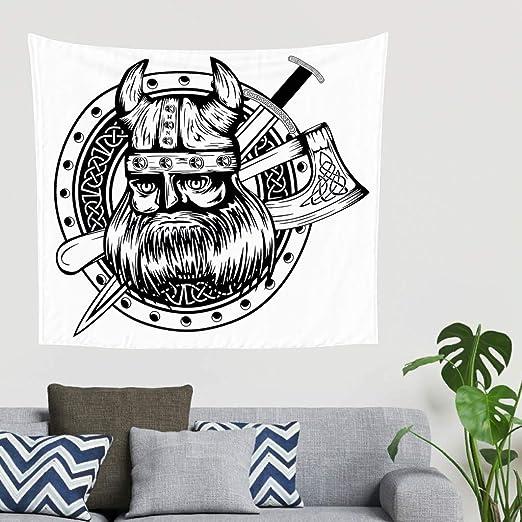 Zigeuner - Guerrero nórdico vikingo, casco, hacha, espada, fase ...