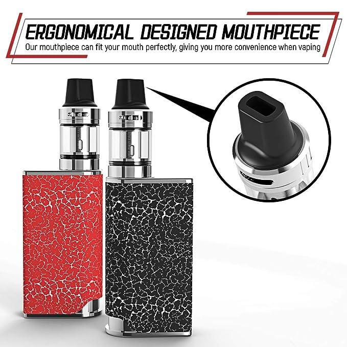 Vaper Cigarros Electronicos Manvap® Blit 80W E Cigarrillo Vape Mod con batería recargable Repuestos de la parte inferior Vape Pen No E Líquido sin nicotina ...