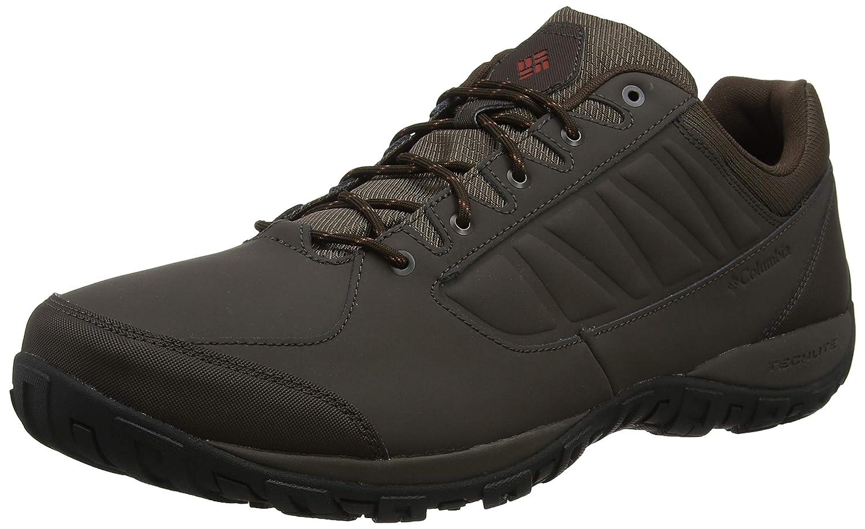 Marron (Cordovan, Rusty) Columbia Ruckel Ridge, Chaussures de Randonnée Basses Homme 50 EU