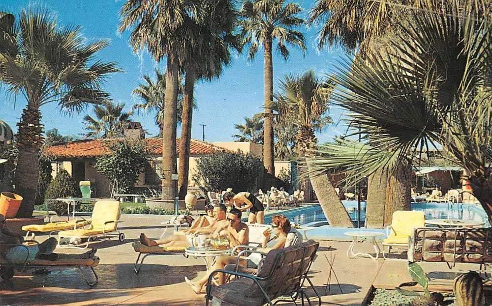 Palm Springs California Horace Heidt's Lone Palm Motel