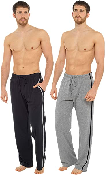 Mens Undercover Cotton Lounge Pants Long Pajama Trousers Bottoms