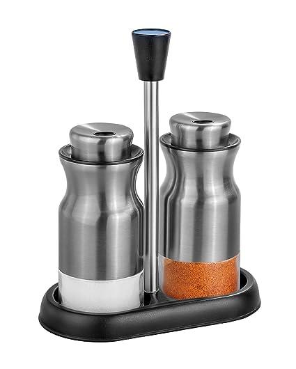 salt and pepper shaker cabinet salt and pepper shakers set of 2 shaker for kitchen adjustable pour holes amazoncom