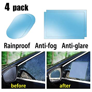 Amazon Com Car Rearview Mirror Waterproof Film Protector Autolotus