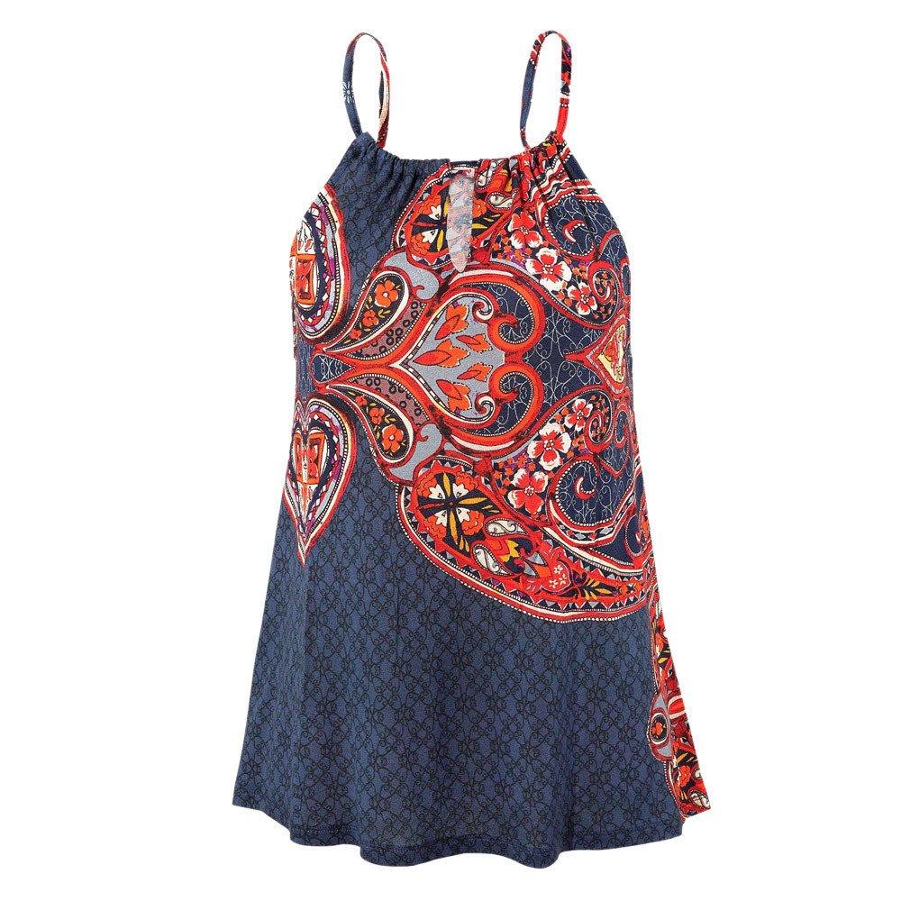Frauen Strand Weste| Ärmellose Bluse| Lässige Tank lose Tops| Ethnisches T-Shirt| Strandkleid Minikleid Tunika | Vintage Bohemian Strandtunika | Sommer A-Linie Tops