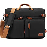 CoolBELL Convertible Backpack Messenger Bag Shoulder Bag Laptop Case Handbag Business Briefcase Multi-Functional Travel Rucksack Fits 15.6 Inch Laptop for Men/Women