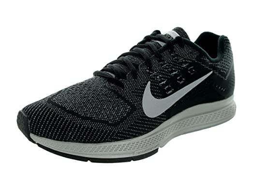 Nike Men's Zoom Structure 18 Flash Cool Grey/Reflect Silver/Black Running  Shoe 7