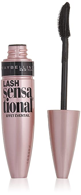 36553f10b81 Amazon.com : Maybelline Lash Sensational Washable Mascara, Blackest Black,  6 COUNT : Beauty